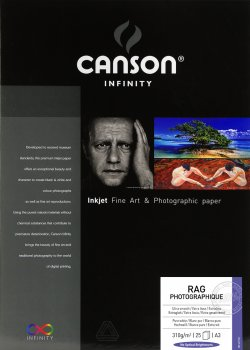 Canson Infinity® Baryta Photographique 310 g/m²