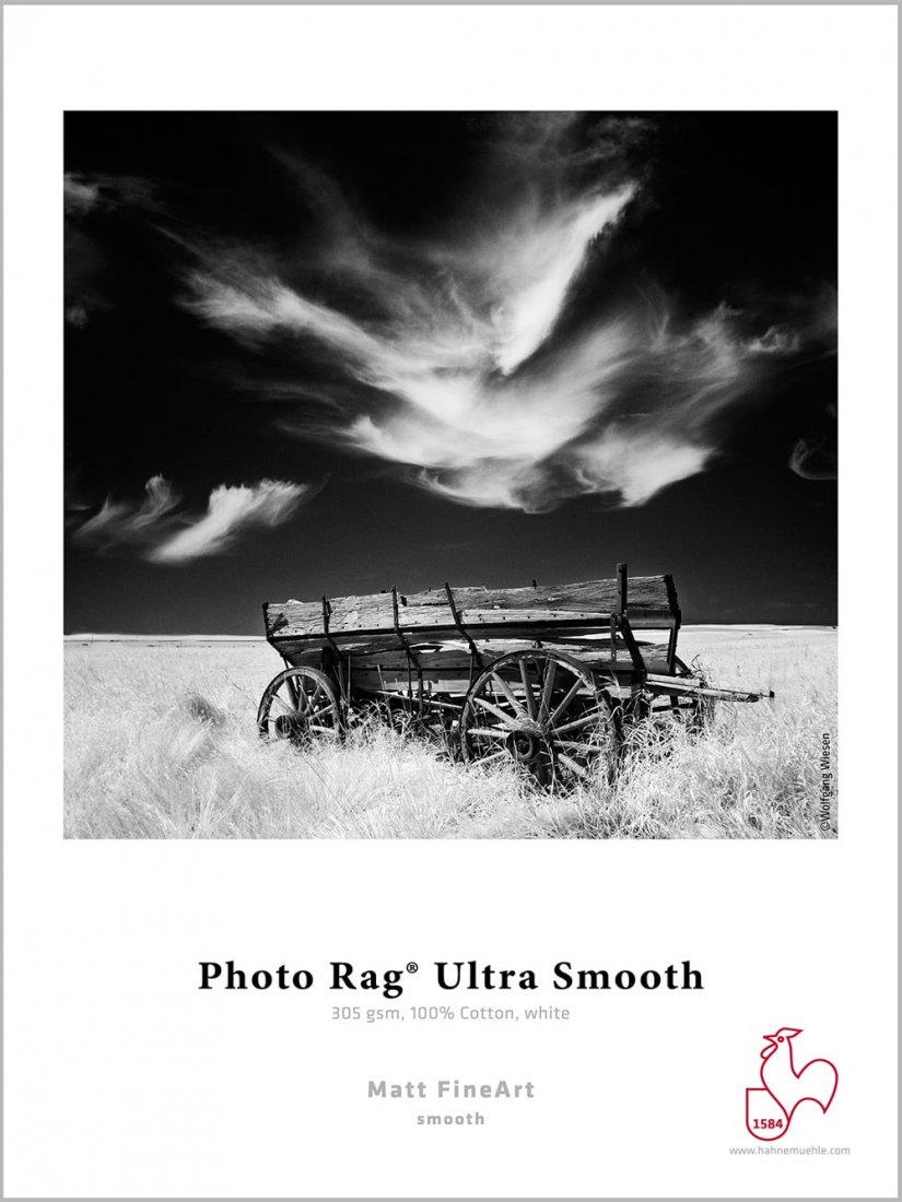 Hahnemühle Fine Art Papier - Photo Rag® Ultra Smooth 305 g/m²