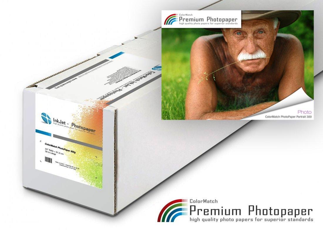 Hauptbild von ColorMatch – PhotoPaper Portrait 300g/25m