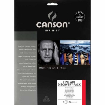Canson Infinity Musterset – Fine Art