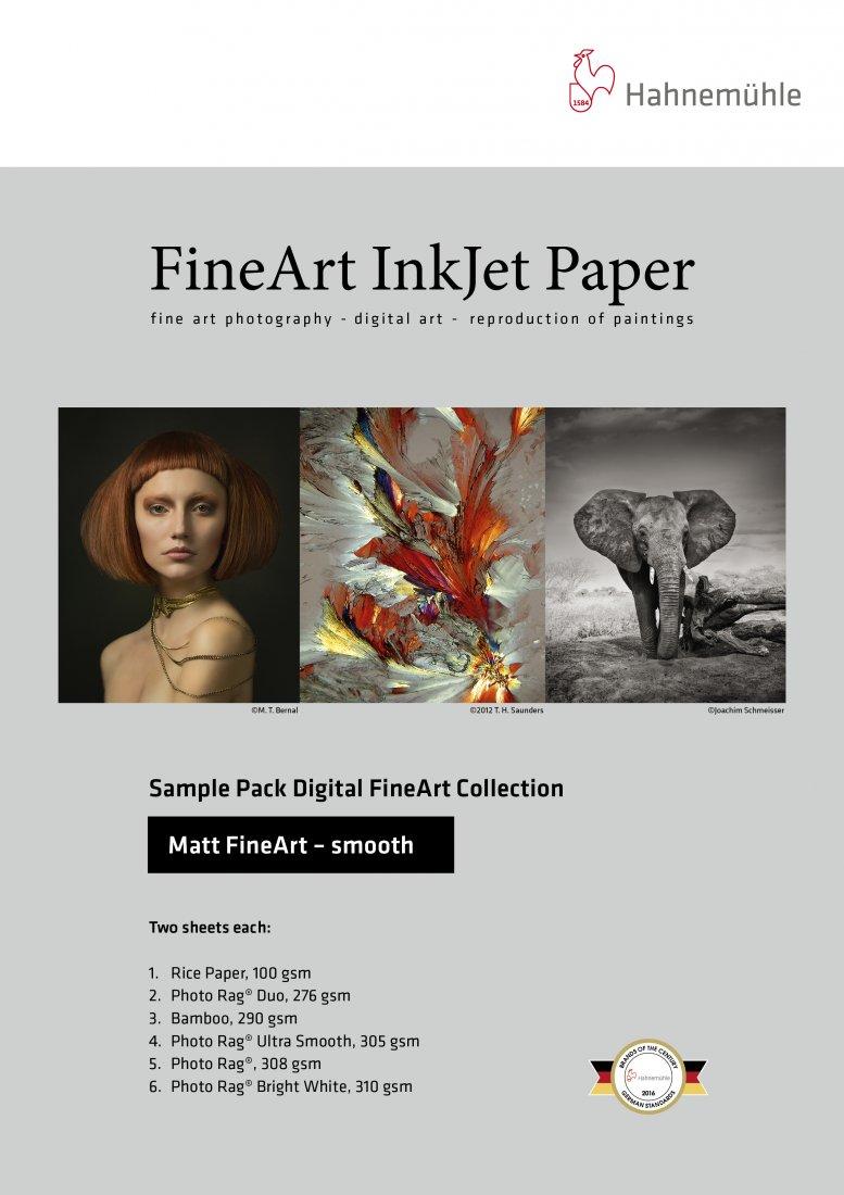 Hahnemühle Musterset – Matt Fine Art smooth