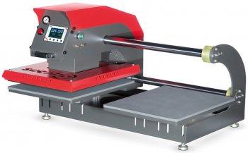 Secabo - TPD7 pneumatische Doppelplatten-Transferpresse