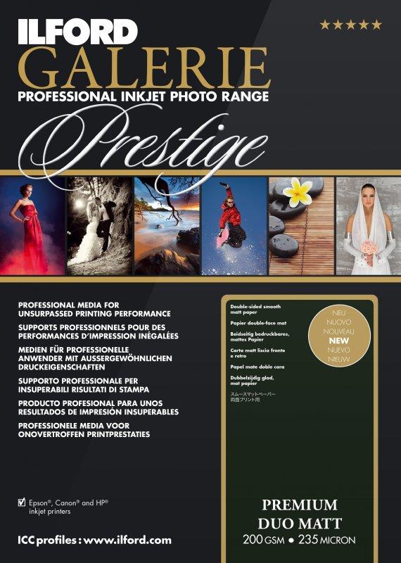 Ilford GALERIE - Prestige Premium Matt DUO 200g/m²