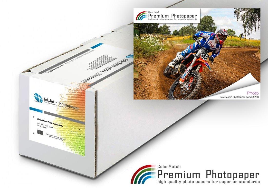 Hauptbild von ColorMatch – PhotoPaper Portrait 250g/30m