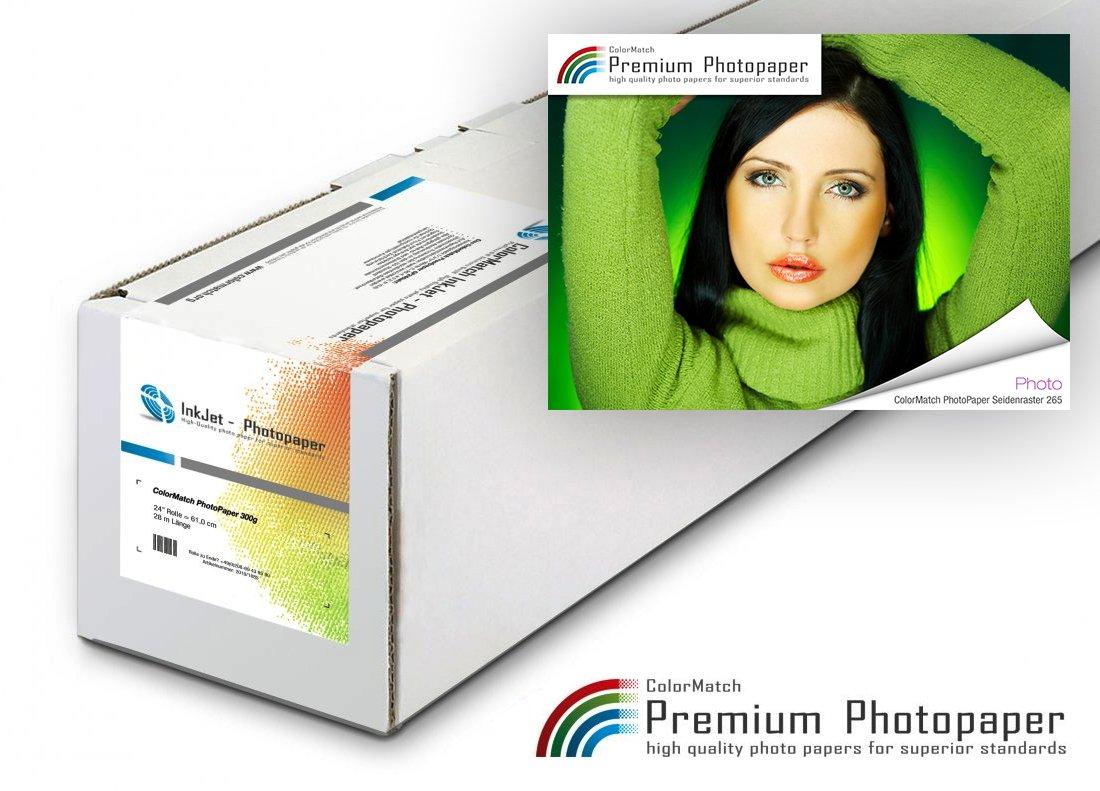 ColorMatch – PhotoPaper Seidenraster 265g/30m