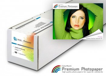ColorMatch – PhotoPaper Seidenraster 265g/30m