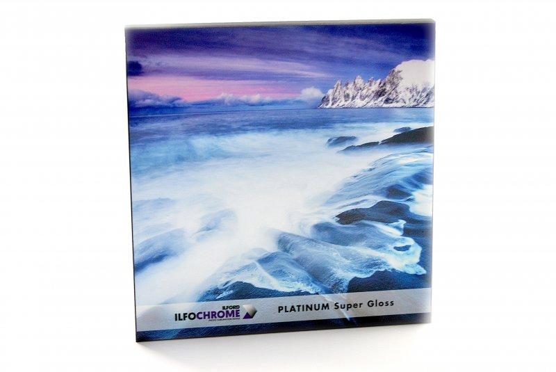 Ilfochrome - Plaque Holz-Fotoplatten