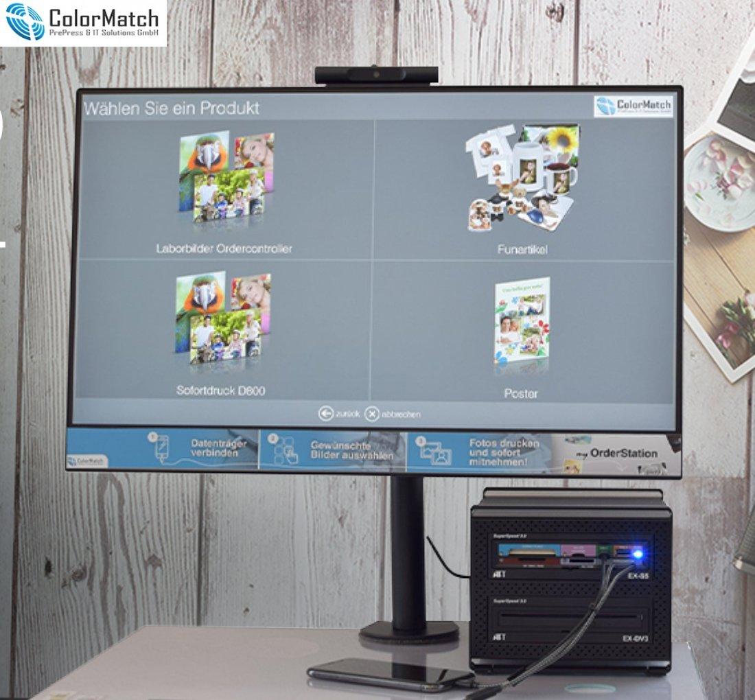 ColorMatch my OrderStation