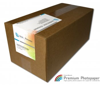 ColorMatch Surelab PhotoPaper Metallic Seidenglänzend 250g/65m