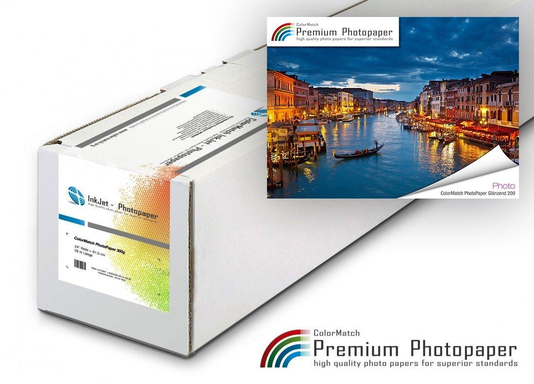 ColorMatch PhotoPaper Glänzend 200g/30m