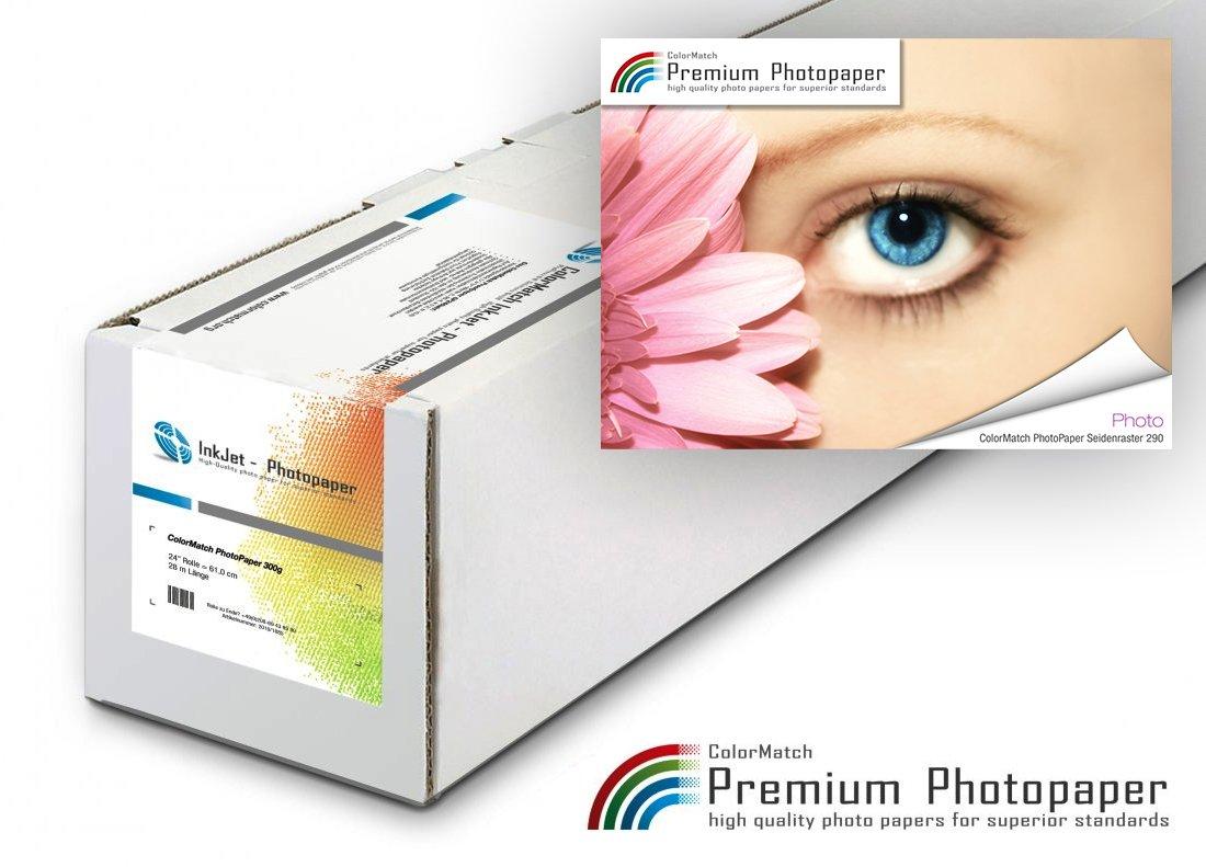 ColorMatch - PhotoPaper Seidenraster 290g/30m