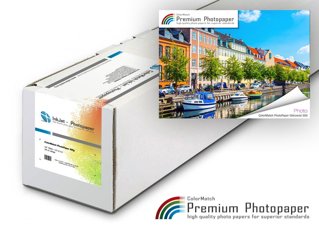 Hauptbild von ColorMatch PhotoPaper Glänzend 300g/25m