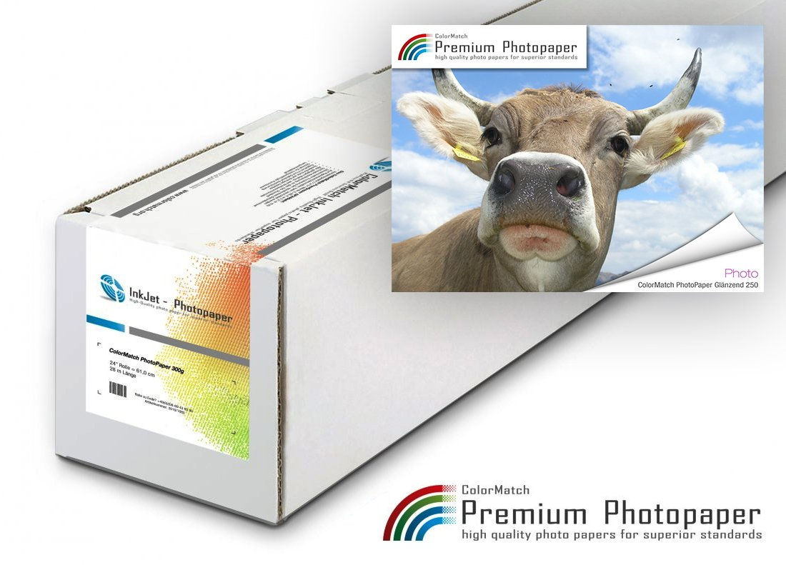 ColorMatch PhotoPaper Glänzend 250g/m²; 30m