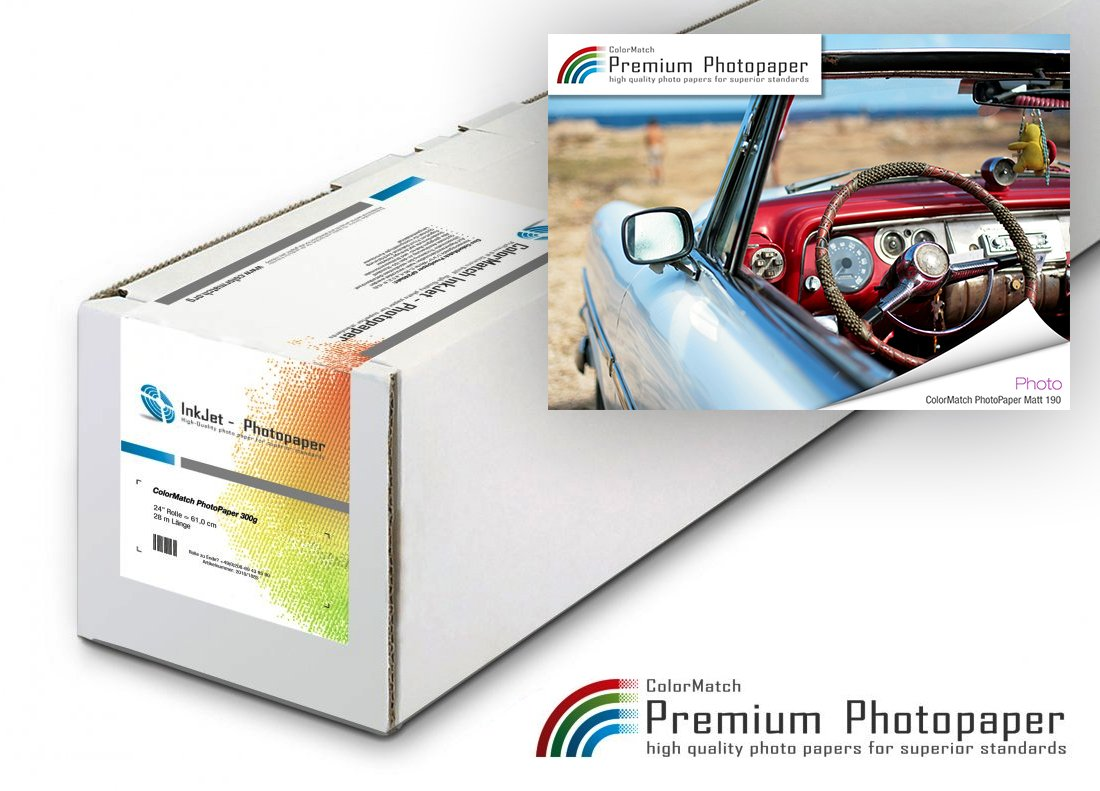 ColorMatch PhotoPaper Matt 190g/m²