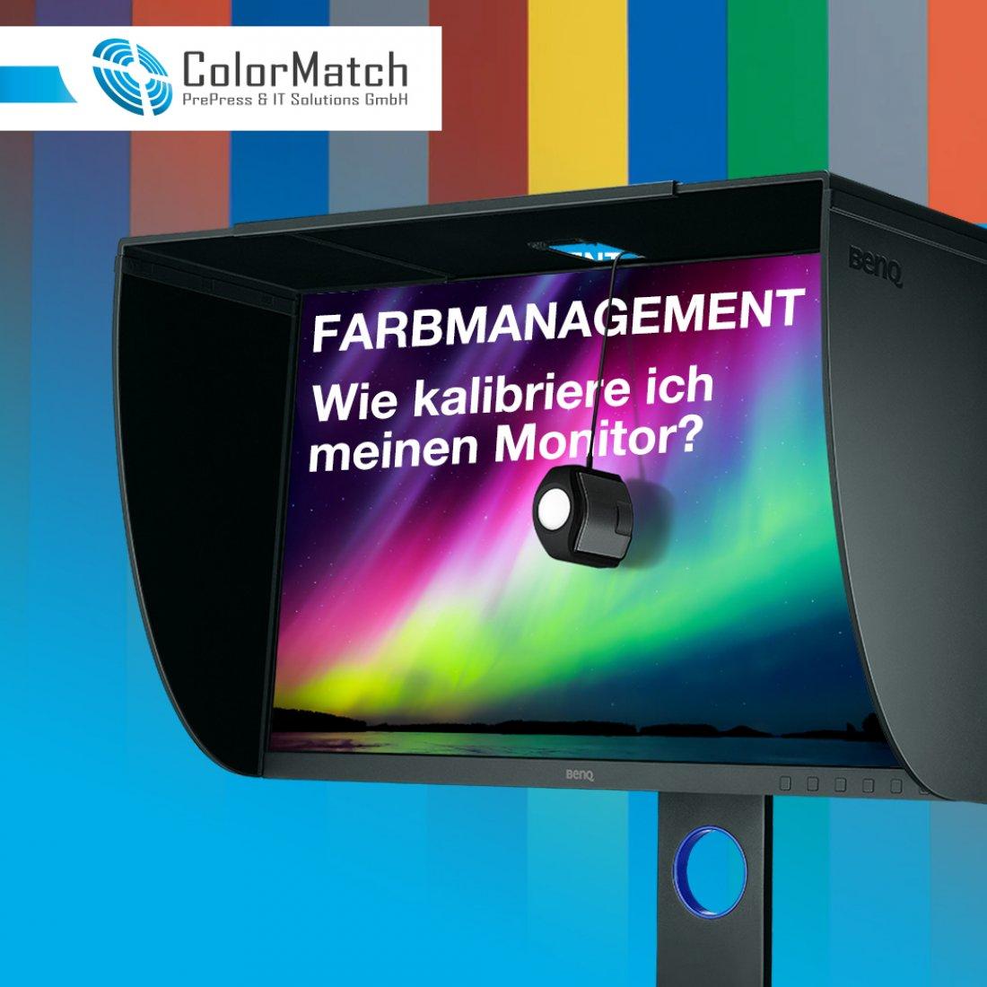 Hauptbild von Farbmananagement Basics / Wie kalibriere ich meinen Monitor