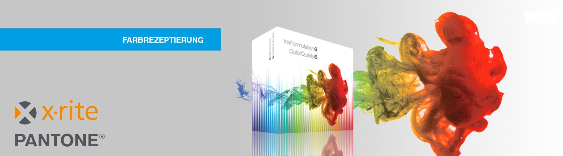 Professionelle Farbrezeptierung für Druckereien und Druckfarbenhersteller />