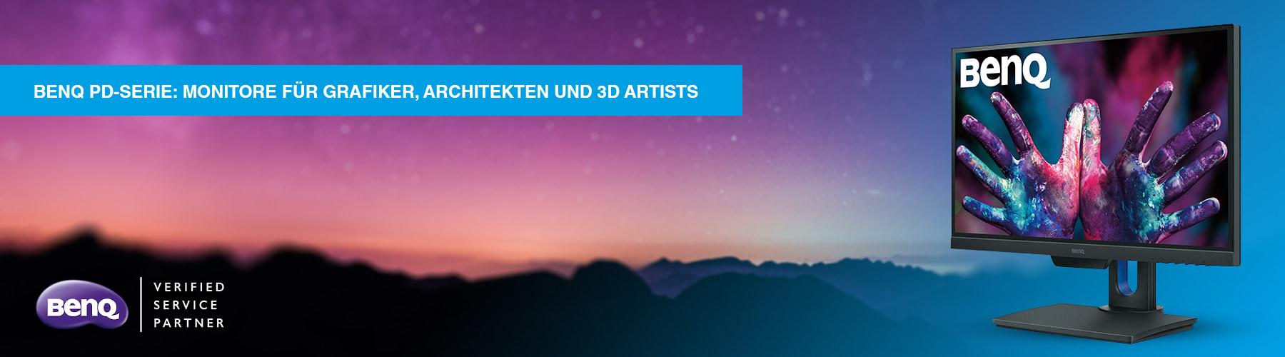 PD-Serie – Monitore für Grafiker, Architekten und 3D-Artists />