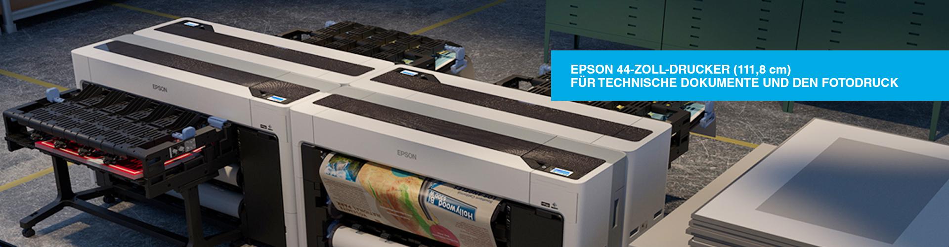 Epson 44-Zoll-Drucker (111,8 cm) für technische Dokumente und den Fotodruck />