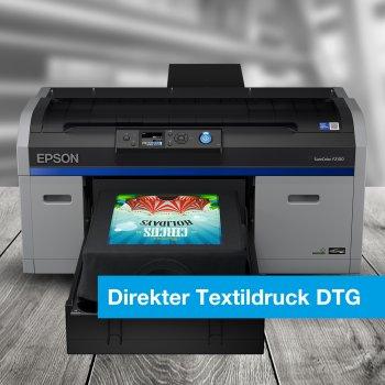 DTG - Digitaler Textildirektdruck und DTF - Direct to Film