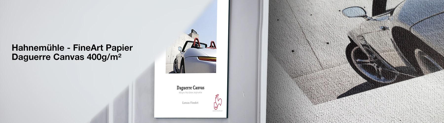 Hahnemühle Fine Art Papier – Daguerre Canvas 400 g/m²