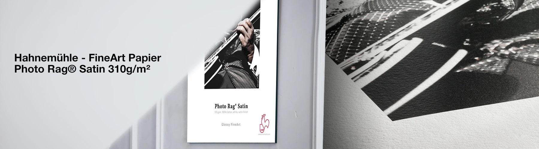 Hahnemühle Fine Art Papier - Photo Rag® Satin 310 g/m²
