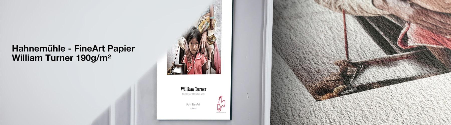 Hahnemühle Fine Art Papier - William Turner 190 g/m²