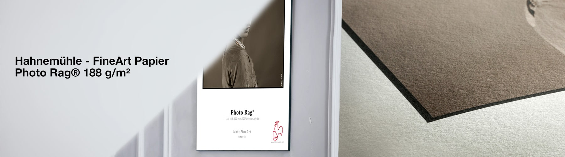 Hahnemühle Fine Art Papier - Photo Rag® 308 g/m²