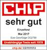 Chip Testurteil Sehr Gut