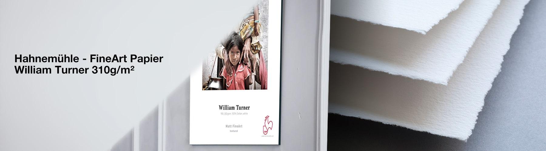 Hahnemühle Fine Art Papier - William Turner 310 g/m²