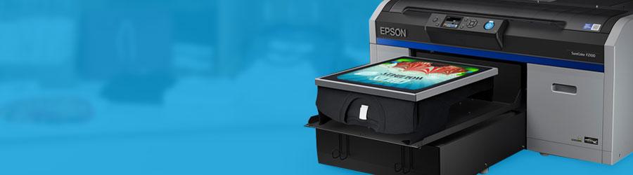 Epson Surecholor SC-F2100 - Hochqualitativer Textildirektdruck