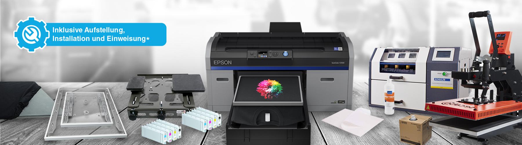 Epson Surecolor SC-F2100 - Starterpaket Pro Plus