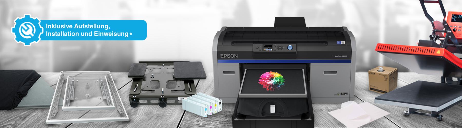 Epson Surecolor SC-F2100 - Starterpaket Pro