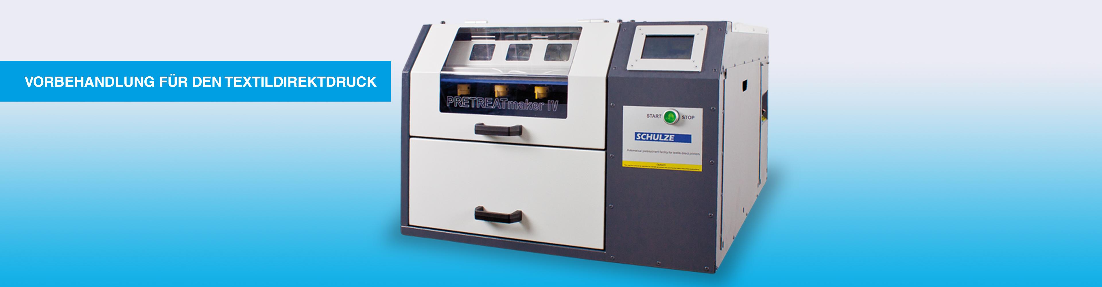 Der PRETREATmaker IV ist ein automatisches Hig-End Vorbehandlungssystem.