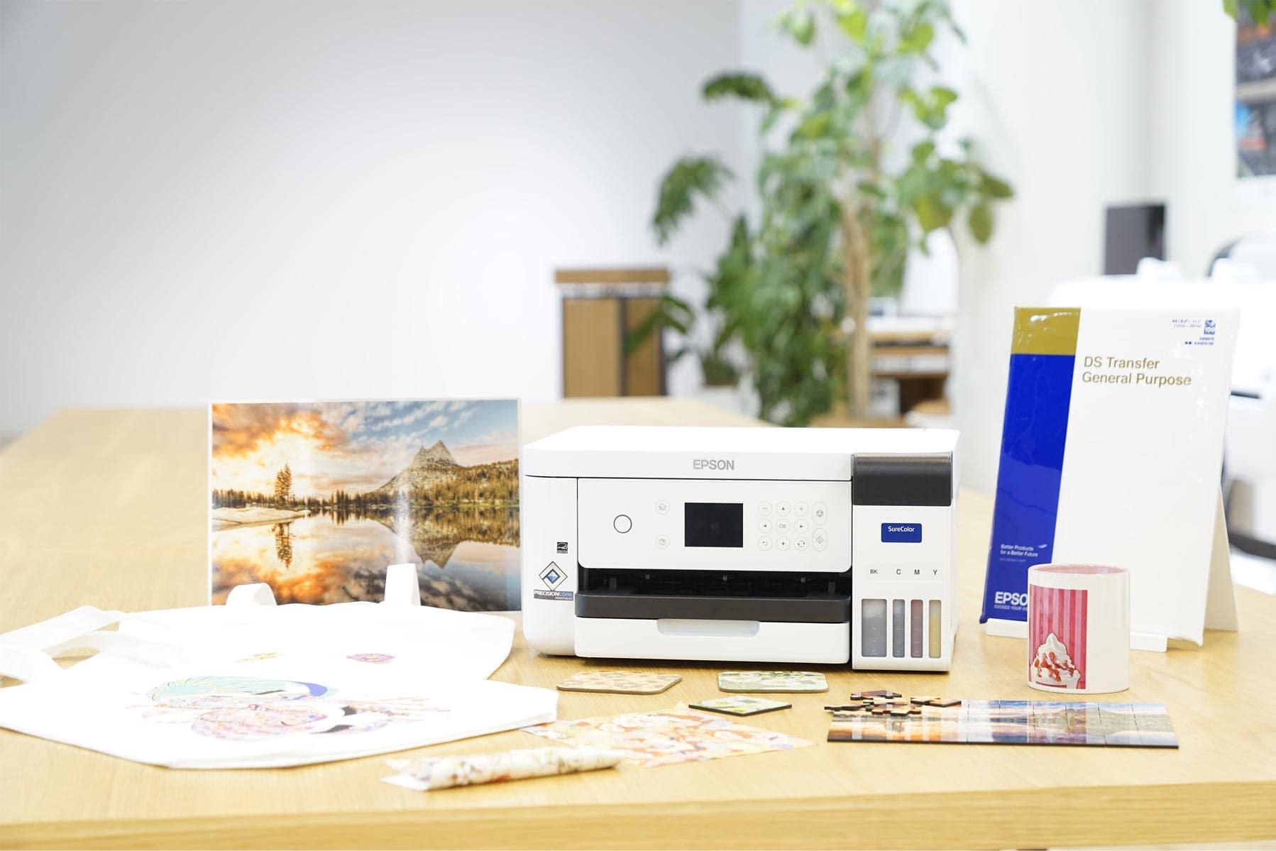 Epson SureColor SC-F100 - Neuer Dye-Sublimationsdrucker