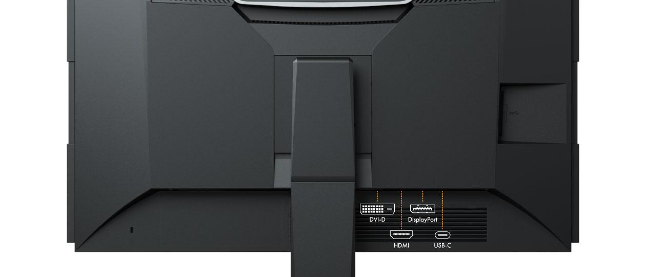 EIZO FlexScan EV2460 - Ein Monitor, viele Anschlüsse