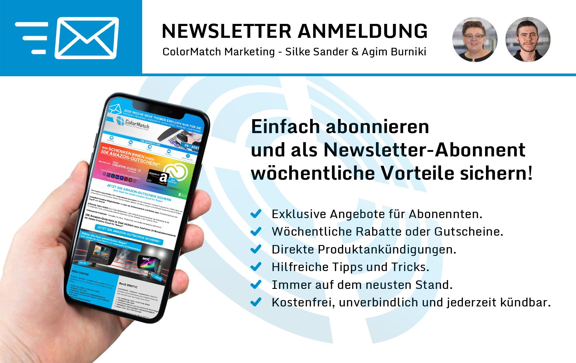 Einfach abonnieren und als Newsletter-Abonnent wöchentliche Vorteile sichern!